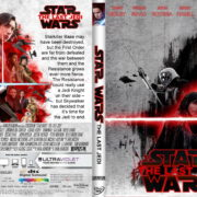 Star Wars: The Last Jedi (2017) R1 CUSTOM DVD Cover & Label