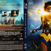 Wonder Woman (2017) R2 German Blu-Ray Custom Cover & Label