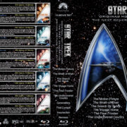 Star Trek: Original Motion Picture / Next Generation Collection (1979-2002) R1 Custom Blu-Ray Cover