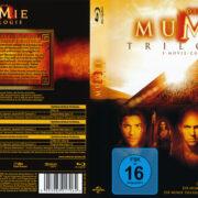 Die Mumie Trilogie (2010) R2 German Blu-Ray Covers