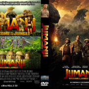 Jumanji: Welcome to the Jungle (2017) R2 Custom DVD Cover