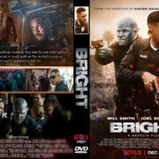 Bright (2017) R1 Custom DVD Cover