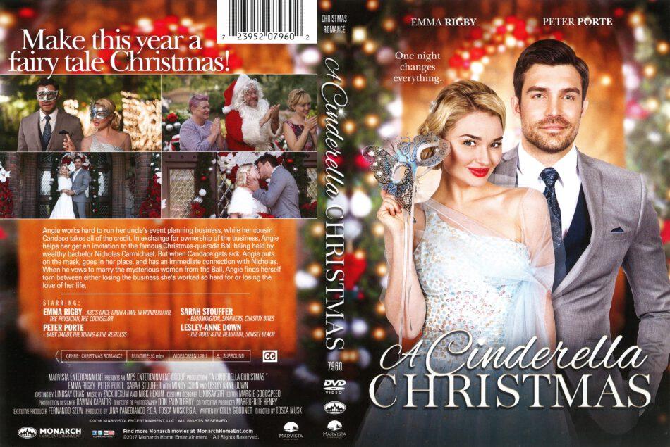 A Cinderella Christmas.A Cinderella Christmas 2016 R1 Dvd Cover Dvdcover Com