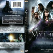 Mythica: The Godslayer (2017) R1 DVD Cover