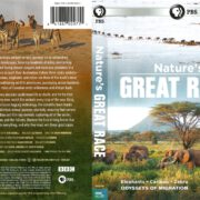 Nature's Great Race (2017) R1 DVD Cover