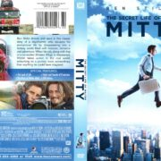 The Secret Life of Walter Mitty (2013) R1 DVD Cover