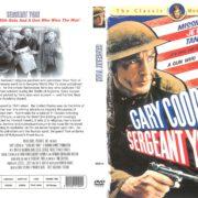 Sergeant York (1941) R1 Custom DVD Cover