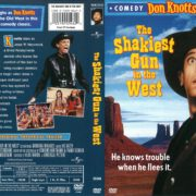 The Shakiest Gun in the West (2003) R1 DVD Cover