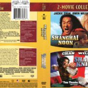 Shanghai Noon/Shanghai Knights 2-Movie Collection (2013) R1 DVD Cover