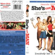 She's the Man (2006) R1 DVD Cover