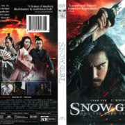 Snow Girl and the Dark Crystal (2015) R1 DVD Cover