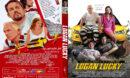 Logan Lucky (2017) R0 Custom DVD Covers