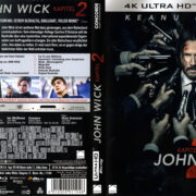 John Wick - Kapitel 2 (2017) R2 German 4K Cover & Label