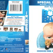 The Boss Baby (2017) R1 Blu-Ray Cover