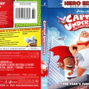 Captain Underpants: The First Epic Movie (2017) R1 Blu-Ray Cover