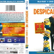 Despicable Me (2014) R1 Blu-Ray Cover