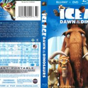 Ice Age: Dawn of the Dinosaurs (2009) R1 Blu-Ray Cover