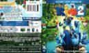 Rio 2 (2014) R1 Blu-Ray Cover