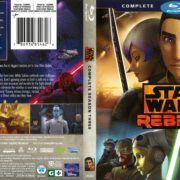 Star Wars Rebels Season 3 (2017) R1 Blu-Ray Cover