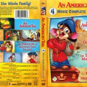 An American Tail 4-Movie Complete Collection (2017) R1 DVD Cover