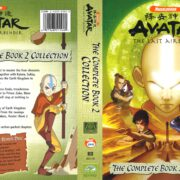 Avatar, the Last Airbender: The Complete Book 2 Collection (2007) R1 DVD Cover