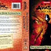 Avatar, the Last Airbender: The Complete Book 3 Collection (2013) R1 DVD Cover