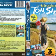 Adventures of Tom Sawyer/Lil' Treasure Hunters/Devil's Hill Triple Feature (2012) R1 DVD Cover