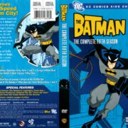 The Batman Season 5 (2008) R1 DVD Cover