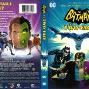 Batman Vs. Two-Face (2017) R1 DVD Cover
