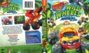 Blaze and the Monster Machines: Wild Wheels Escape to Animal Island (2017) R1 DVD Cover
