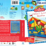 Caillou's Summer Vacation (2001) R1 DVD Cover