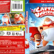 Captain Underpants: The First Epic Movie (2017) R1 DVD Cover