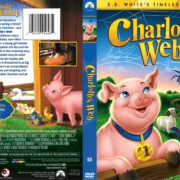 Charlotte's Web (1972) R1 DVD Cover