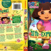 Dora the Explorer: Let's Explore (2010) R1 DVD Cover