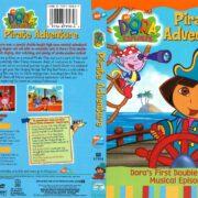 Dora the Explorer: Pirate Adventure (2004) R1 DVD Cover