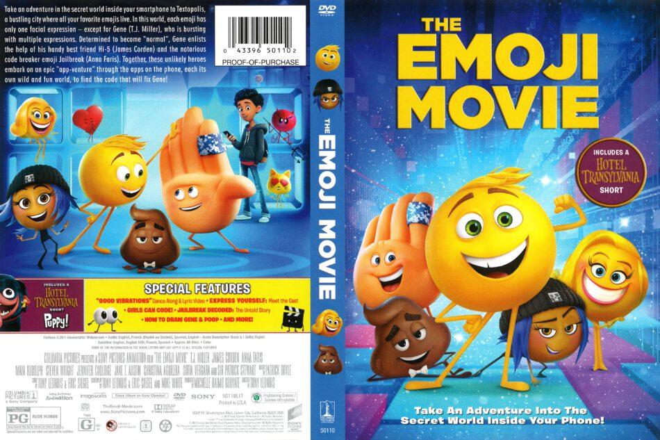 The Emoji Movie 2017 R1 Dvd Cover Dvdcover Com