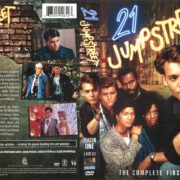 21 Jump Street Season 1 (1987) R1 DVD Cover