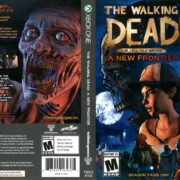 The Walking Dead: A New Frontier (2016) Xbox One DVD Cover