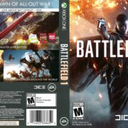 Battlefield 1 (2016) Xbox One DVD Cover