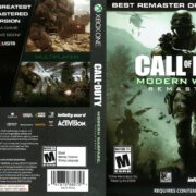 Call of Duty Modern Warfare Remastered (2017) Xbox One DVD Cover