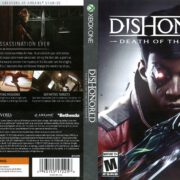 Dishonored: Death of the Outsider (2017) Xbox One DVD Cover