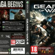 Gears of War 4 (2016) Xbox One DVD Cover