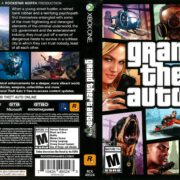 Grand Theft Auto V (2014) Xbox One DVD Cover
