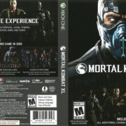 Mortal Kombat XL (2016) Xbox One Cover