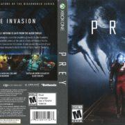 Prey (2017) Xbox One Cover