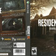 Resident Evil 7 Biohazard (2017) Xbox One Cover