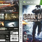 Call of Duty: World at War (2008) Xbox 360 Cover