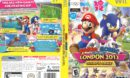 Mario and Sonic at the London 2012 (2011) Olympic Games Wii Cover