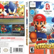 Mario and Sonic at the Olympic Games (2007) Wii Cover
