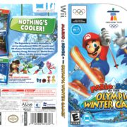 Mario and Sonic at the Olympic Winter Games Vancouver 2012 (2009) Wii Cover